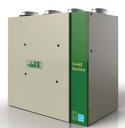 Home Residential Air Exchangers Gold Series G2400H ECM   NEW. VanEE Loupe  G2400H ECM   Side